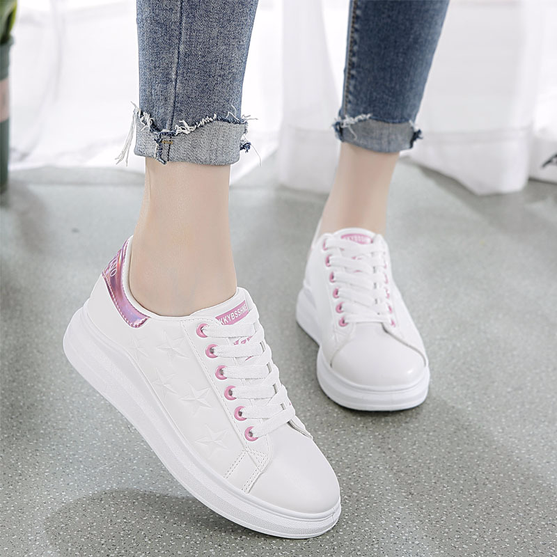 ... Mens Trainers zapatos de hombre. US  25.05. QWEDF Women Vulcanize Shoes  2018 New Sneakers Shoes Woman White Platform Casual Shoes Tenis Feminino  Walking 4259b66acf13