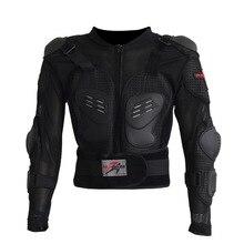 Chaqueta de la motocicleta chaqueta de invierno de la armadura de los hombres a prueba de golpes de carreras de cuerpo completo Protector de poliéster al aire libre equipo de montar ropa