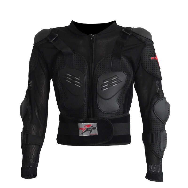 Veste de moto armure veste d'hiver hommes incassable résistant course pleine protection du corps Polyester en plein air vêtements d'équitation
