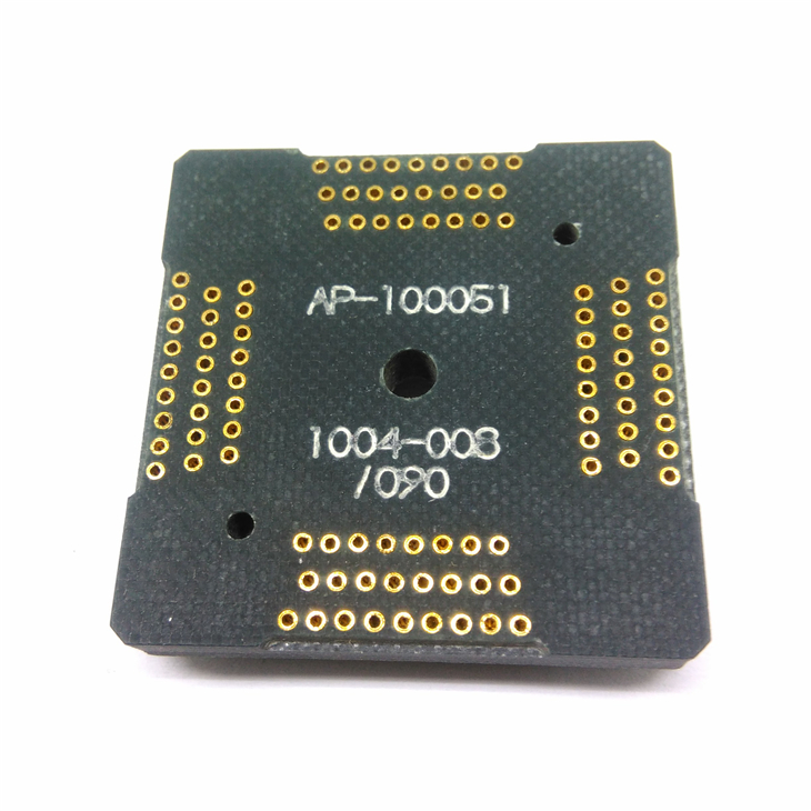 QFP100-0.5 receptacle Pin board Longer lifetime Stable Quality for QFP100-0.5 socket
