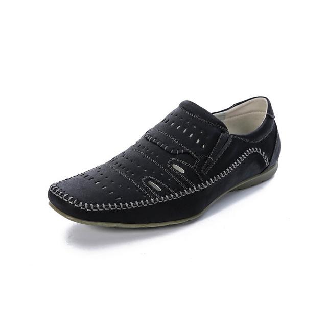 El DESARROLLO DINÁMICO de Los Hombres Sandalias Casuales de Verano Nuevos Hombres de Negro/Amarillo/Azul recortes Zapatos de Los Hombres Respirables Cómodos de Playa calza El Envío Libre