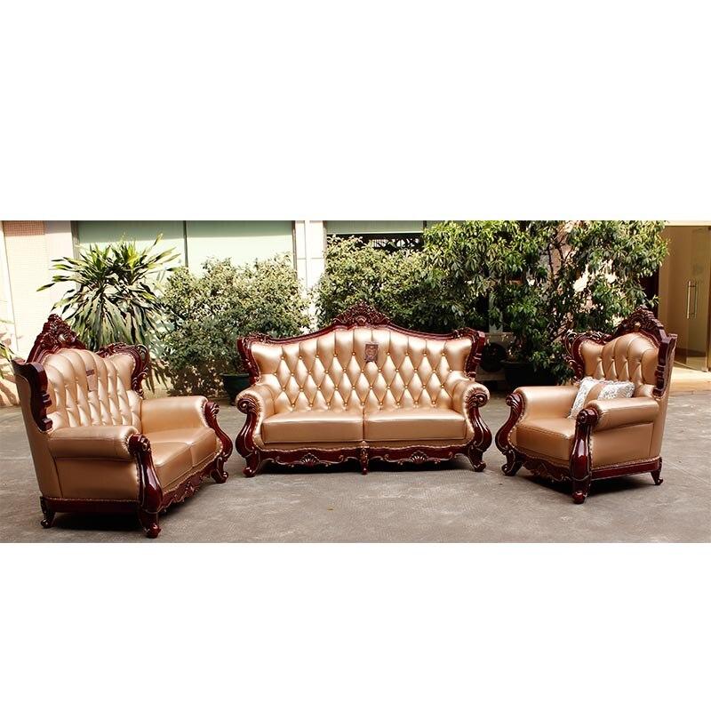 Compra de cuero moderno muebles de la sala online al por for Compra de muebles por internet