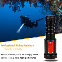 3 Mode 1000 Lm XM L2 LED Tactical Diving Torch Flashlight LED Waterproof Diver Diving Flashlight underwater FlashLight
