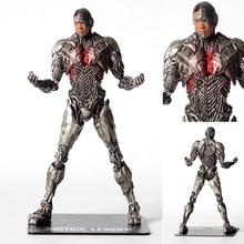 DC Justice League Cyborg Statue ARTFX + STATUE Justice League Victor Stone Cyborg 1/10 Scale DC Super Hero Figure NFI0