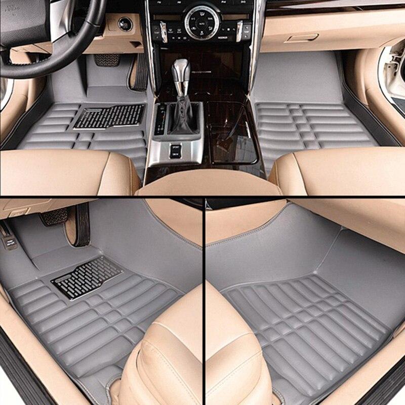 Car <font><b>floor</b></font> mats for <font><b>escape</b></font>, car mat black beige gray brown