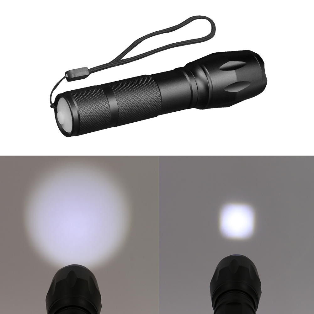 XML-T6 Flashlight LED Torch Zoomable LED Flashlight Bike Bicycle Light for 1x18650 Battery with usb cable hot sale 3x cree xml t6 led headlamp bike light 5000 lumen 18650 led head light 4x18650 battery pack charger bike rear light