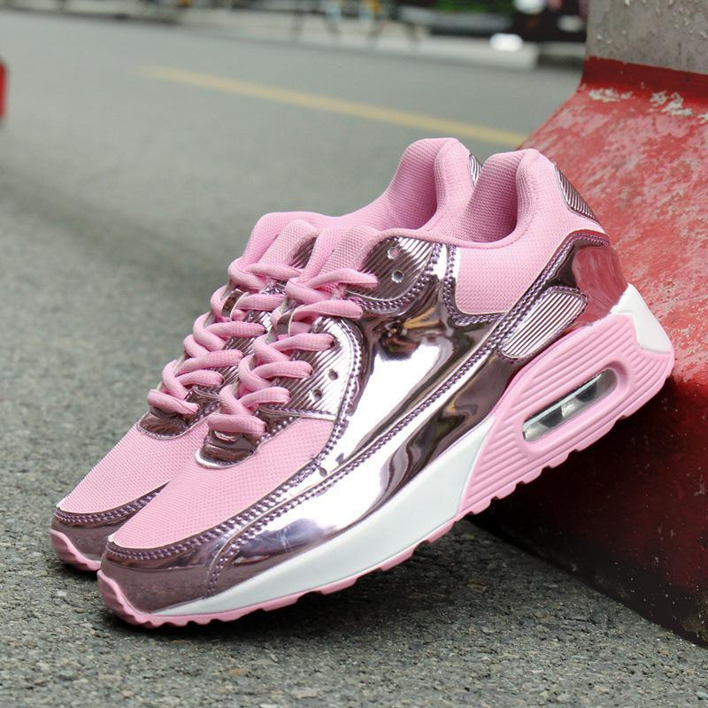 CPI 2018 New Women Sneakers With Bling Breathable Mesh