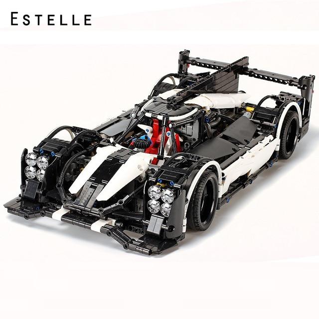 2207pcs Technic Car 919 Le Mans Championship Super Racing Car Model Building Blocks Compatible Legoings Bricks For Children Toy