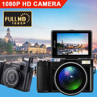 Professional 3.0 inch Display 4X Zoom Full HD 24MP 1080P Digital Camera Video Camcorder DVR Recorder support SD card
