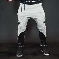 2018 Tight Men Running Pants Sport Leggings Yoga Fitness Clothing Compression Sportswear Sweat Jogging Male Workout Gym Pants