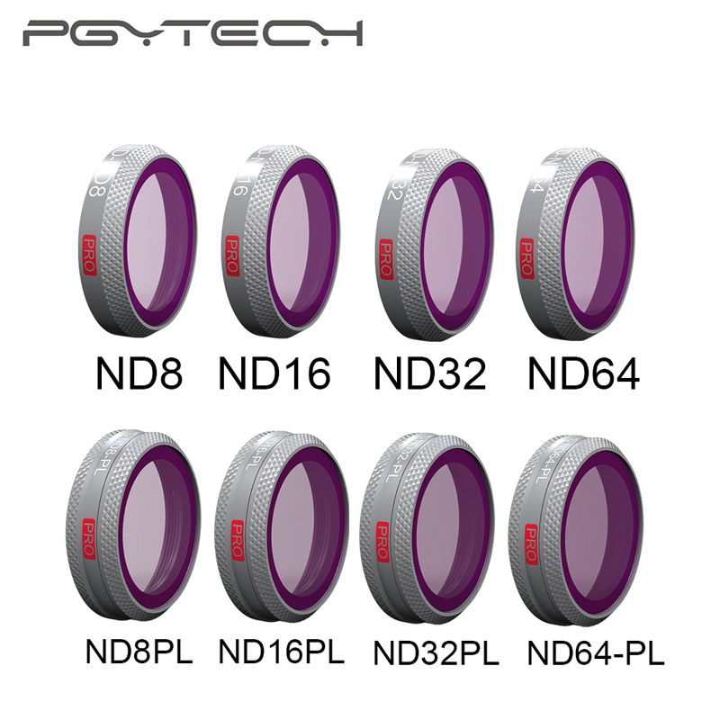 PGYTECH Mavic 2 filtres Zoom ND8/16/32/64-PL ensemble Kit objectif caméra ND8/16/32/64 pour accessoires drone Zoom DJI Mavic 2