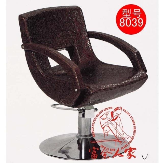 Y8039 can lift European beauty salon haircut stool. Barber's chair
