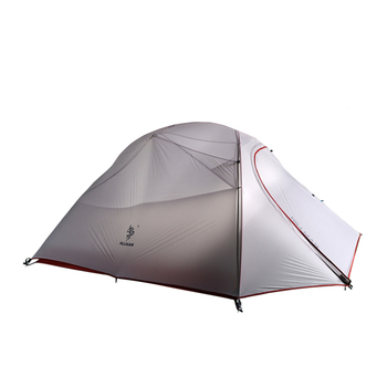 fead4ca017 Postes de aluminio de doble capa ultraligeros de 3 personas uso impermeable  a prueba de viento tienda de campaña con alfombra inferior