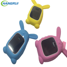 Colorful Bracelet Replacement Smart Baby Watch Waterproof Silicone Strap for q60 q90 gps tracker children Watch Protective Case