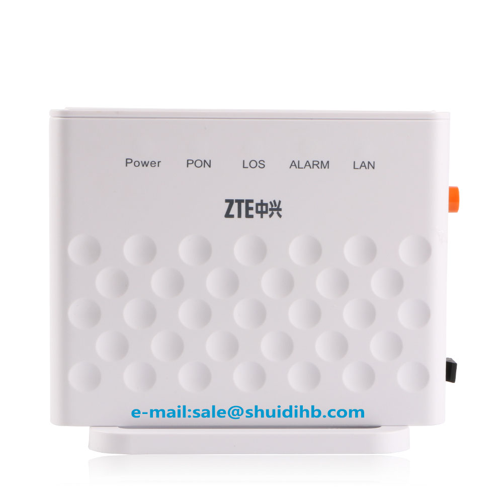 ZTE ZXA10 F601 GPON ONU ONT FTTH SFU Router Mode FTTH FTTO with 1GE Port same SC/UPC input  function english vesion