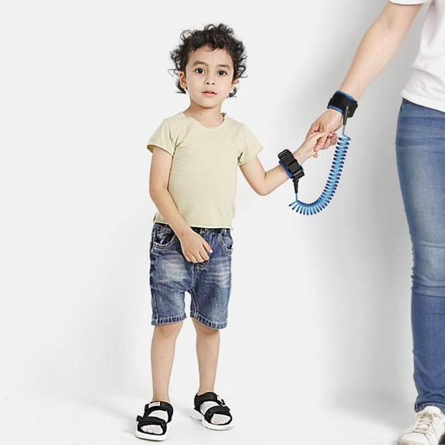 1.5/2/2.5M Baby Anti Lost Wrist Strap Rope Parent-child Outdoor Walking Hand Belt Kids Safety Anti-lost Wristband Toddler Leash 2