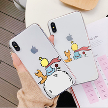 Cartoon The Little Prince The earth space Soft silicone Phone Case Cover For iPhone X XS MAX XR 6 6S 7 8 Plus 5 5S SE King Cases castle princess white snow prince cartoon phone case back cover silicone soft for iphone 6 7 8plus plus 5 5s 6 6s xs max xr