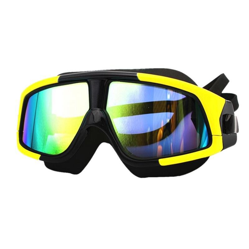 Comfortable Silicone Swim Glasses Portable Swimming Goggles Anti-Fog UV Unisex Swim Mask Waterproof High Quality