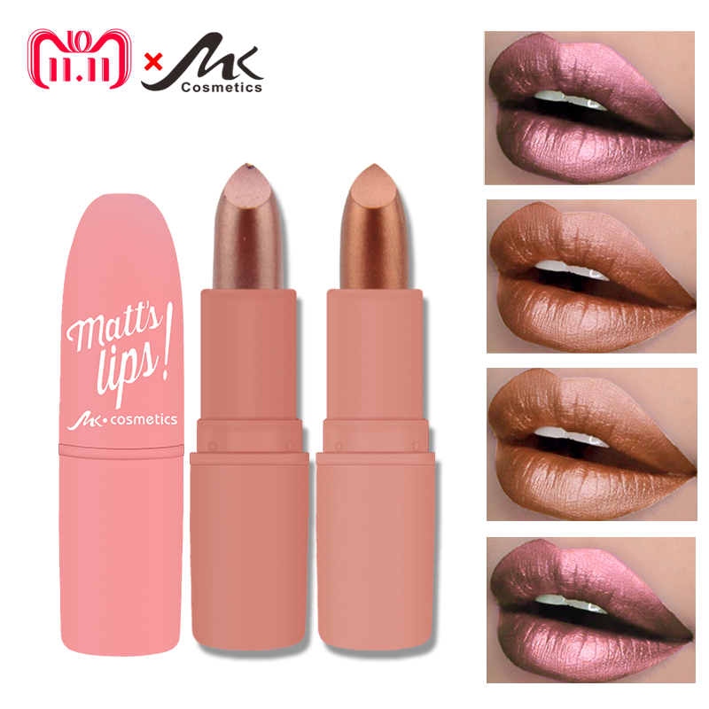MK Waterproof Long Lasting Metallic Matte Lipstick