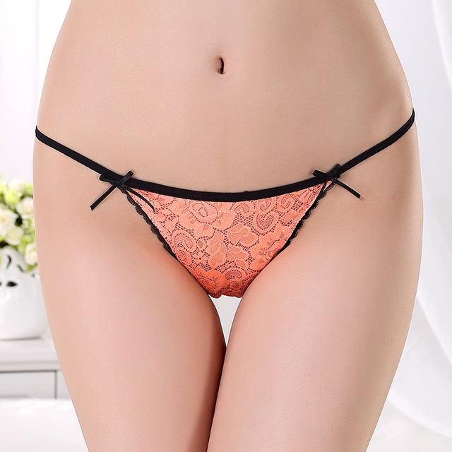 Sexy underwear women panties thong Lingerie for women thongs and g string  Lace underpants seamless briefs panty undies 91182af8a
