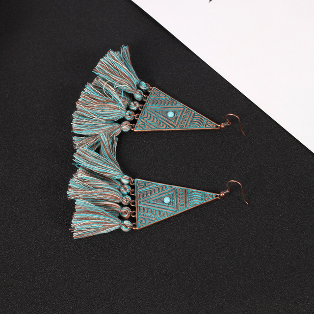 Morocco Tassel Earrings