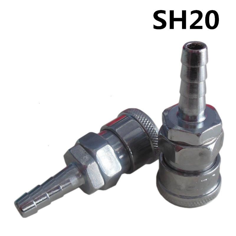 ⑤5pcs Sh20 Join Hose ヾ ノ 8mm 8mm X 5mm Pneumatic Air