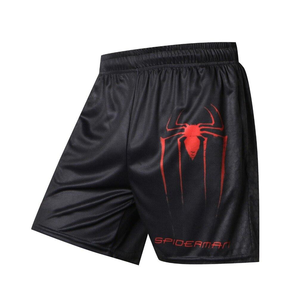Hulk-Board Shorts Men Spiderman Batman Quick-Dry Casual Weisummer Fashion Hot Print Diffuse
