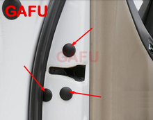 for Nissan X-trail Xtrail Rogue T31 T32 Car Door Lock Check Screw Protect Cover Trim Stickers Waterproof Styling 12pcs/set