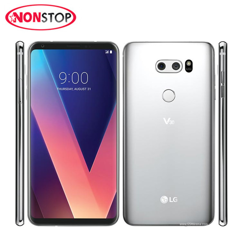 Original LG V30 Octa Core Single Sim Android Unlocked Cellphone 6.0'' 4G RAM 64G ROM 4G LTE Fingerprint Smart Phones