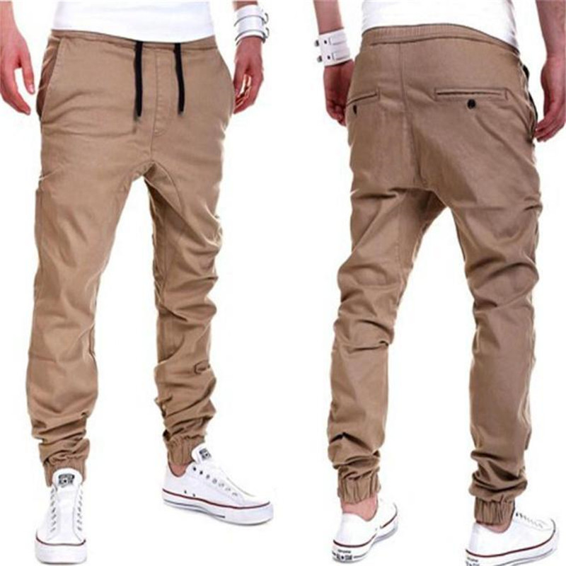 men Harem Pants brand 2018   Jeans   Tether Casual Sagging pants men Trousers Drop Crotch Pant Men Joggers Feet pants hanging crotch