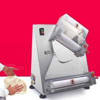 Commercial pizza molding machine Noodle press Stainless steel automatic press flour machine Pizza shop tools
