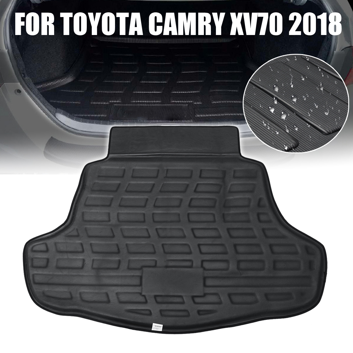 For Toyota Camry XV70 2018 Car Cargo Boot Liner Rear Trunk Floor Mat Tray Carpet Mud Protective Pad  Auto Accessories