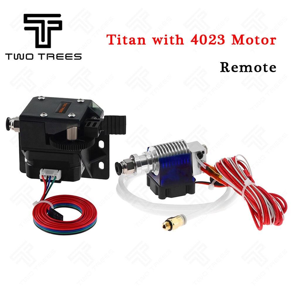 Extruder Titan Full Kit with NEMA 17 Stepper Motor for 3D Printer 1.75//3.0