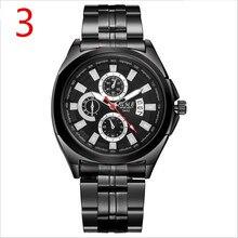 Novo relógio de quartzo dos homens de negócios, simples e delicado, maduro manhood.21