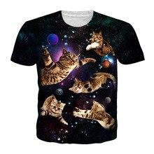 3D Cat T-shirt