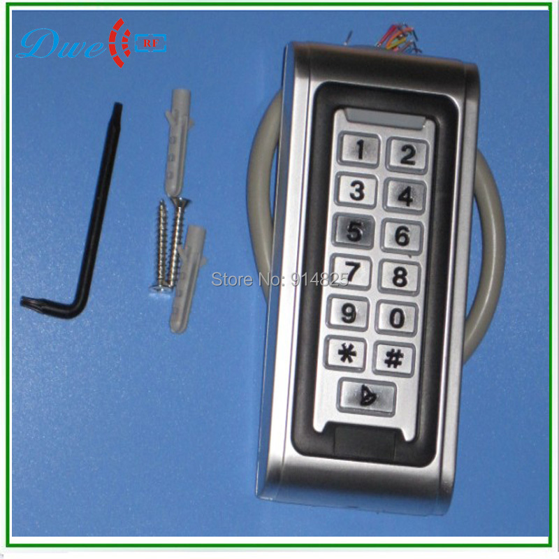 ФОТО Hight Quality EM-ID 125khz Waterproof IP68 Sliver Standalone reader metal access control