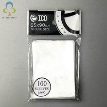 2 팩 = 200Pcs 65*90mm 카드 슬리브 카드 mtg 카드 용 마법 수집 용 수호자 배리 tcg 보드 게임 카드 슬리브 GYH