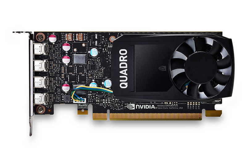 NVIDIA Quadro P620 / 2GB GDDR5/128-bit/ 80GB/s/CUDA Core 512/PCI-E3.0/Professional Graphics New Original
