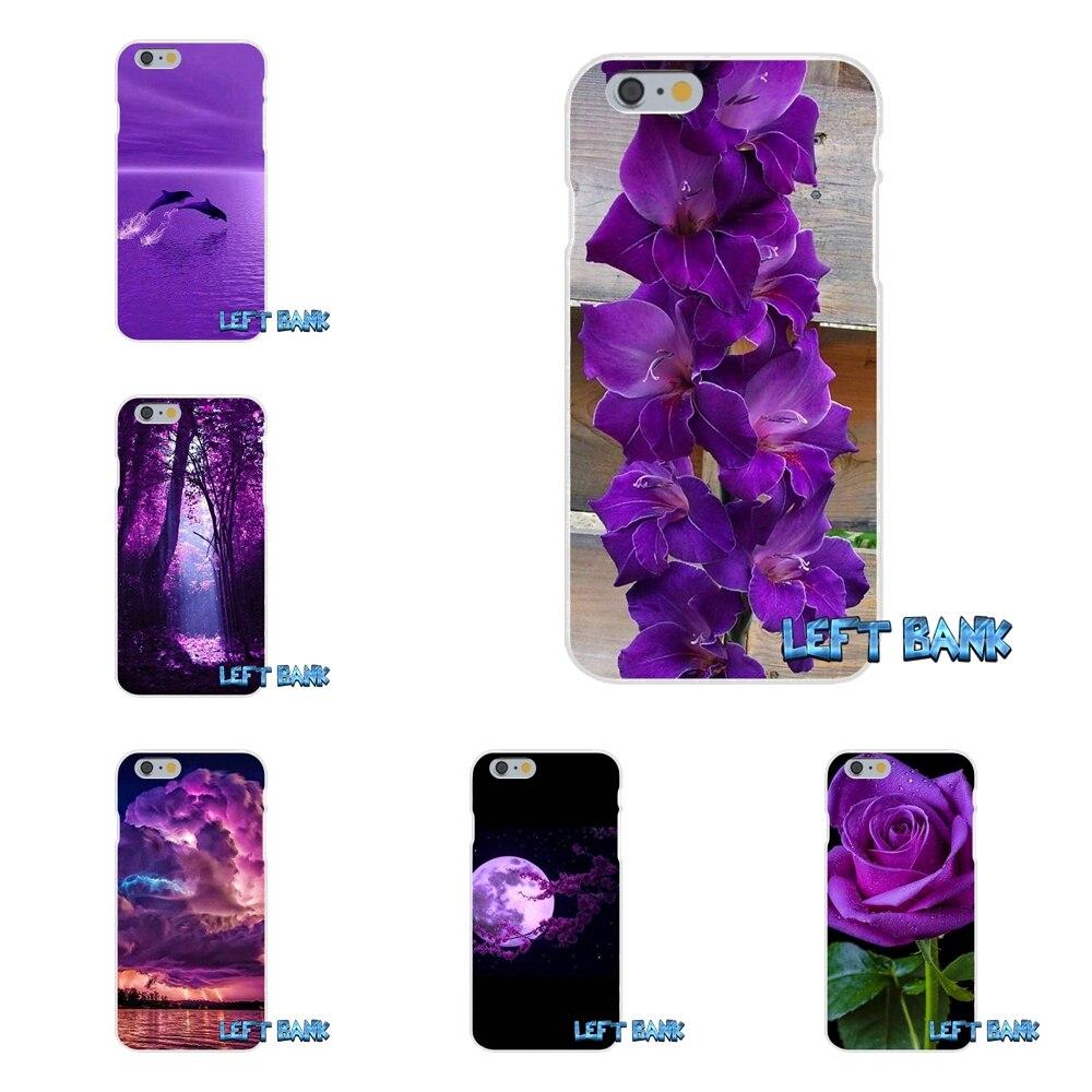 Бесконечность на фиолетовый Тонкий силиконовый чехол для телефона для Sony Xperia Z z1 z2 z3 Z4 Z5 Compact m2 M4 M5 e3 T3 XA aqua