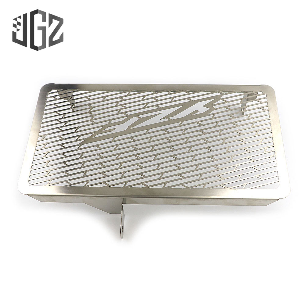 Motorcycle Stainless Steel Radiator Guard Grille Protector Bezel Cover Chrome For <font><b>YAMAHA</b></font> YZF <font><b>R25</b></font> R3 2015 2016 2017 2018 <font><b>2019</b></font> image