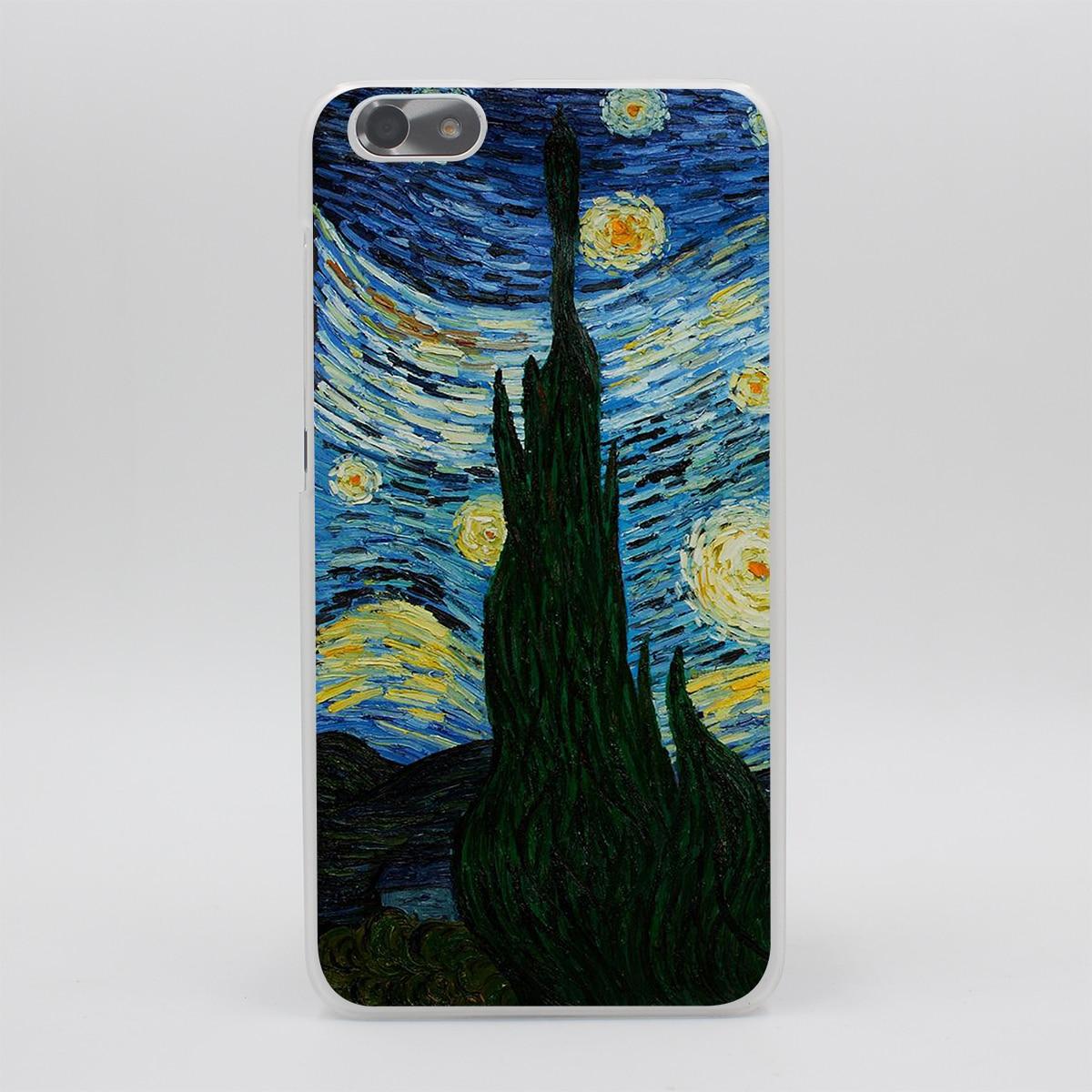 Lavaza Van Gogh Notte Stellata Dura Del Telefono Della Copertura Per