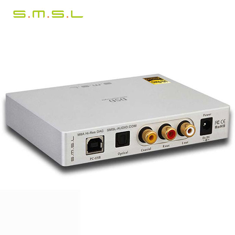 smsl dac audio amplifier usb dac dsd player es9038q2m xmos decoder hifi usb audio amplifiers цена