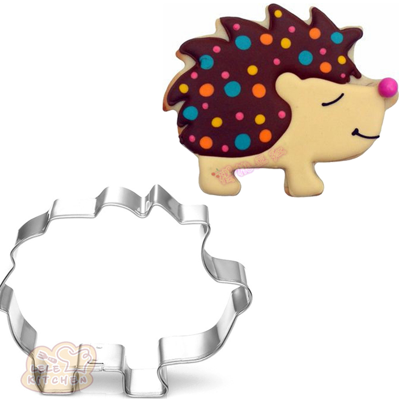 US SELLER!! Hedgehog cookie and fondant cutter