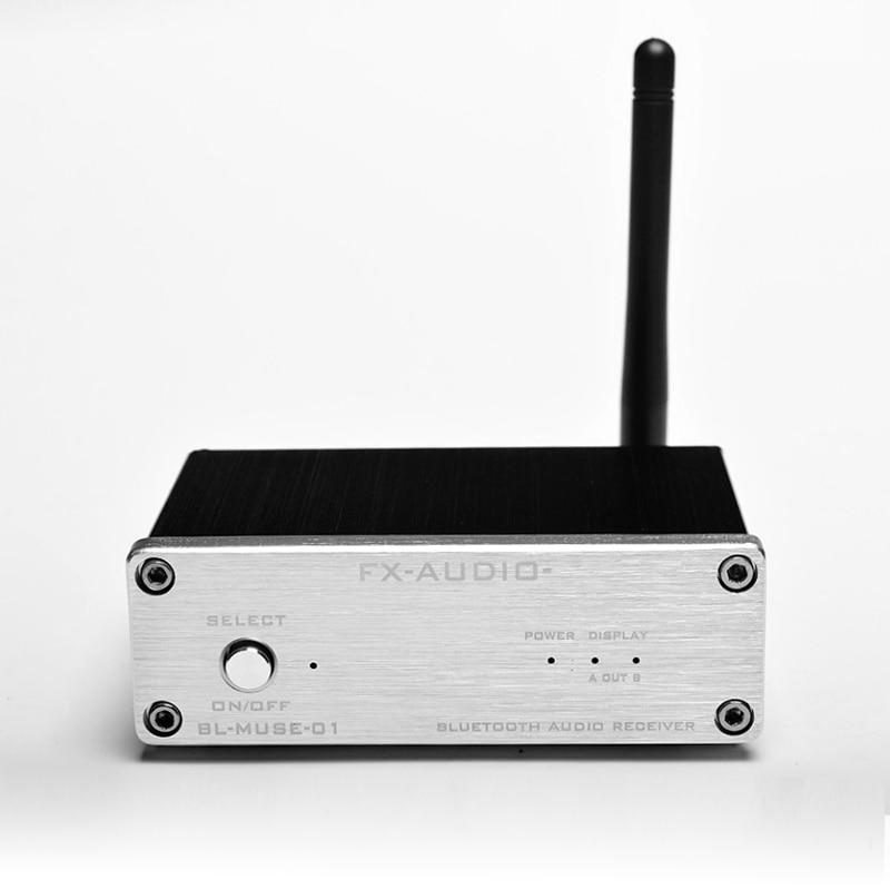 La salida coaxial RCA de fibra del receptor de audio Bluetooth sin - Audio y video casero