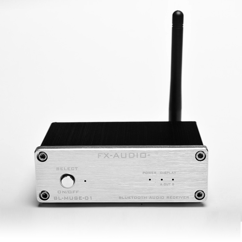 FX-AUDIO Fidelity HIFI Lossless Bluetooth Audio Receiver fiber RCA coaxial output can be connected to a pure digital amplifier