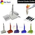 Dental Gutta Cortador con 4 Puntas de 5 colores, Endo Dental gutapercha Cortador cortador interruptor disuelto, Dental Instrument Lab blanchiment
