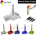 Dental Gutta Cutter with 4Tips 5 colors, Percha Tooth Cutter Endo dissolved breaker cutter, Dental Lab Instrument blanchiment