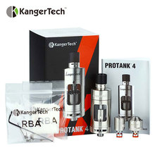 100% Original Kangertech Protank 4 Evolved Clearomizer 5ml Capacity Top Side Filling Mouth Lung vaping  Airflow Adjustable