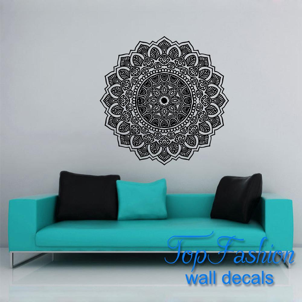 Wall Decoration Lp : Wall decal vinyl sticker namaste om mandala ornament