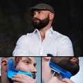 New Beard Bro Shaping Comb Razor Moustache Sex Man Gentleman Trim Template Hair Cut Molding Trim Template Beard Modelling Tools